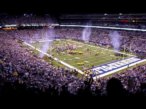 Indianapolis Colts 2009 AFC Champs!!!  Watch Colts history as time expires!