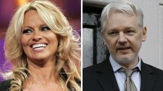 Pamela Anderson: Julian Assange Is A 'hero'