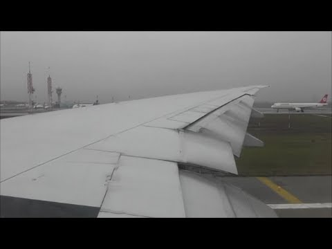 Turkish Airlines Boeing 777-300ER Departure from Istanbul Ataturk