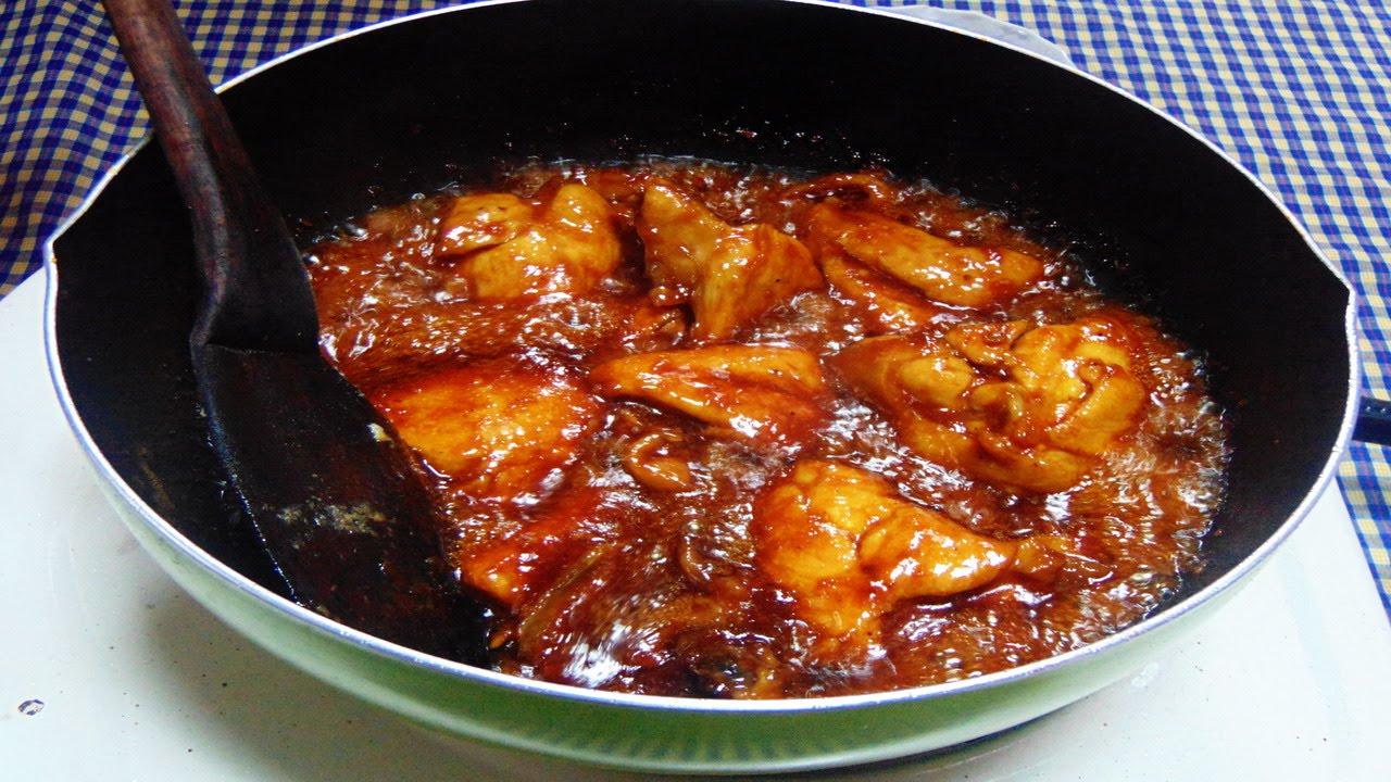 Resep dan Cara Memasak Ayam Kecap Simpel Enak  YouTube