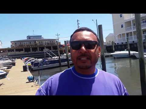 Pontoon rental in Wildwood Nj ride to yacht.