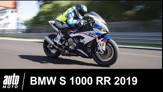 2019 BMW S 1000 RR ESSAI avec Mathieu Gines à Magny-Cours