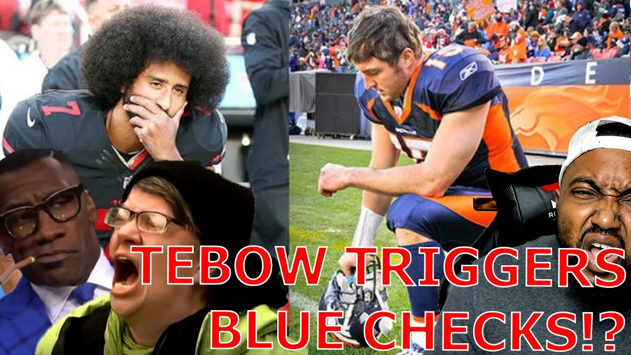 Shannon Sharpe & Blue Checks Get TRIGGERED Because Tim Tebow Is Back In The NFL Before Kaepernick