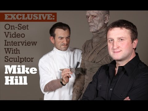 On-Set Video Interview With Sculptor Mike Hill