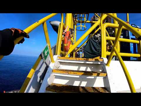 Offshore Drilling Rig: Sapura T-18 (GoPro Hero 7 Black)