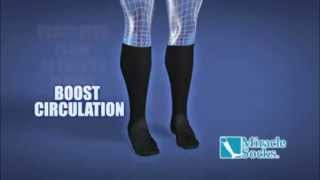 Носки Miracle Socks компрессионные от варикоза