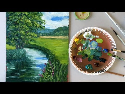 Acrylfarben selber machen | DIY (2020) from YouTube · Duration:  4 minutes 51 seconds