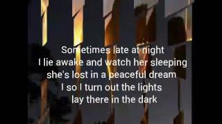 If tomorrow never comes with lyrics
