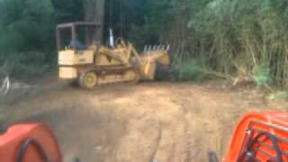 Case 450 dozer crawler loader with 4 in 1(drott)