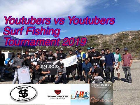 Youtubers Vs Youtubers Surf Fishing Tournament 2019