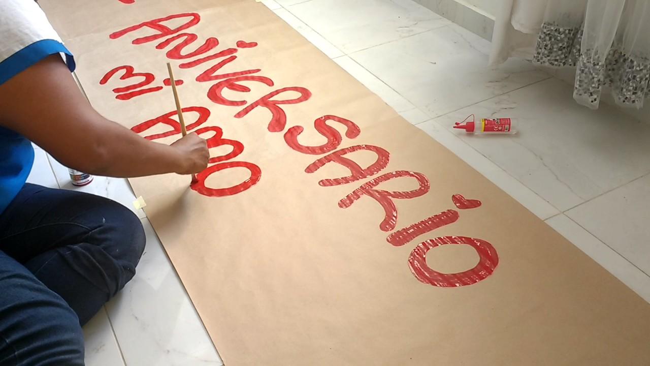 Frases Para Un Aniversario: Cómo Hacer Pancarta De 3 Metros Feliz Aniversario Mi Amor