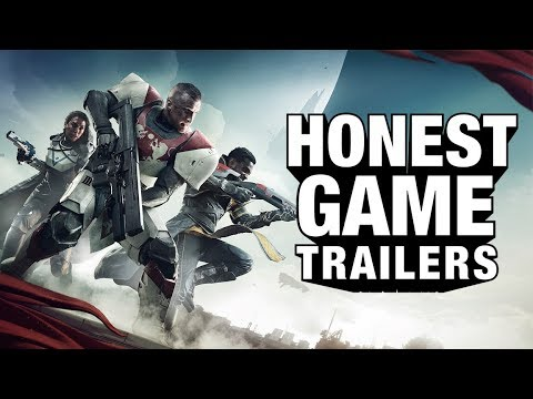 Download Youtube: DESTINY 2 (Honest Game Trailers)
