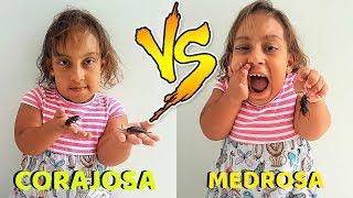 Criança corajosa VS Criança medrosa - MC DIVERTIDA