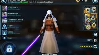 SWGOH GT Rebels vs Jedi Revan