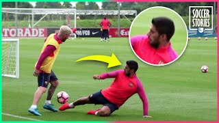 7 Players That Lionel Messi Humiliated In Training