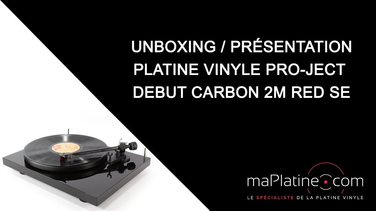 Quelle Marque De Platine Vinyle Choisir platine vinyle pro-ject debut carbon 2m red spéciale edition