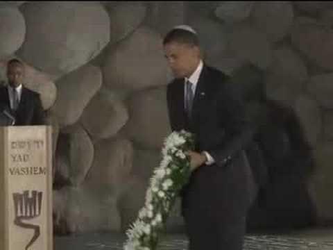 Barack Obama at Yad Vashem, Israel