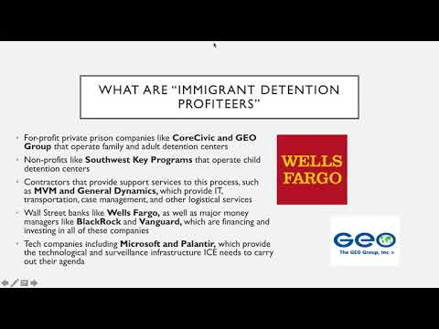 Are your elected officials taking money from immigrant detention profiteers?