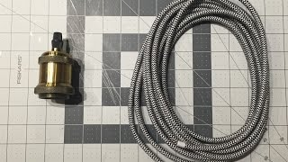 DIY: How to Wire a Pendant Lamp!