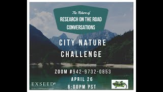 Research on the Road LiveStream: City Nature Challenge 2021