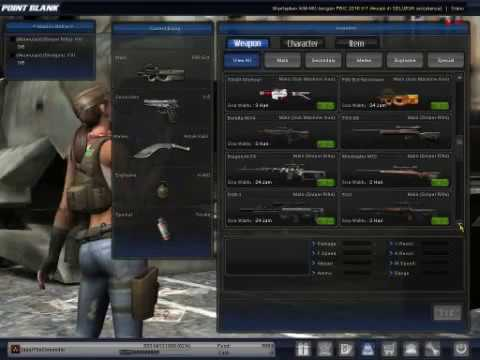 Point Blank Senjata Banyak (Full Cash)