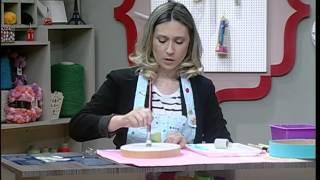 Como pintar con stencil, margaritas - 31/03/2016