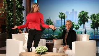 Jennifer Aniston and Ellen Play Last Word