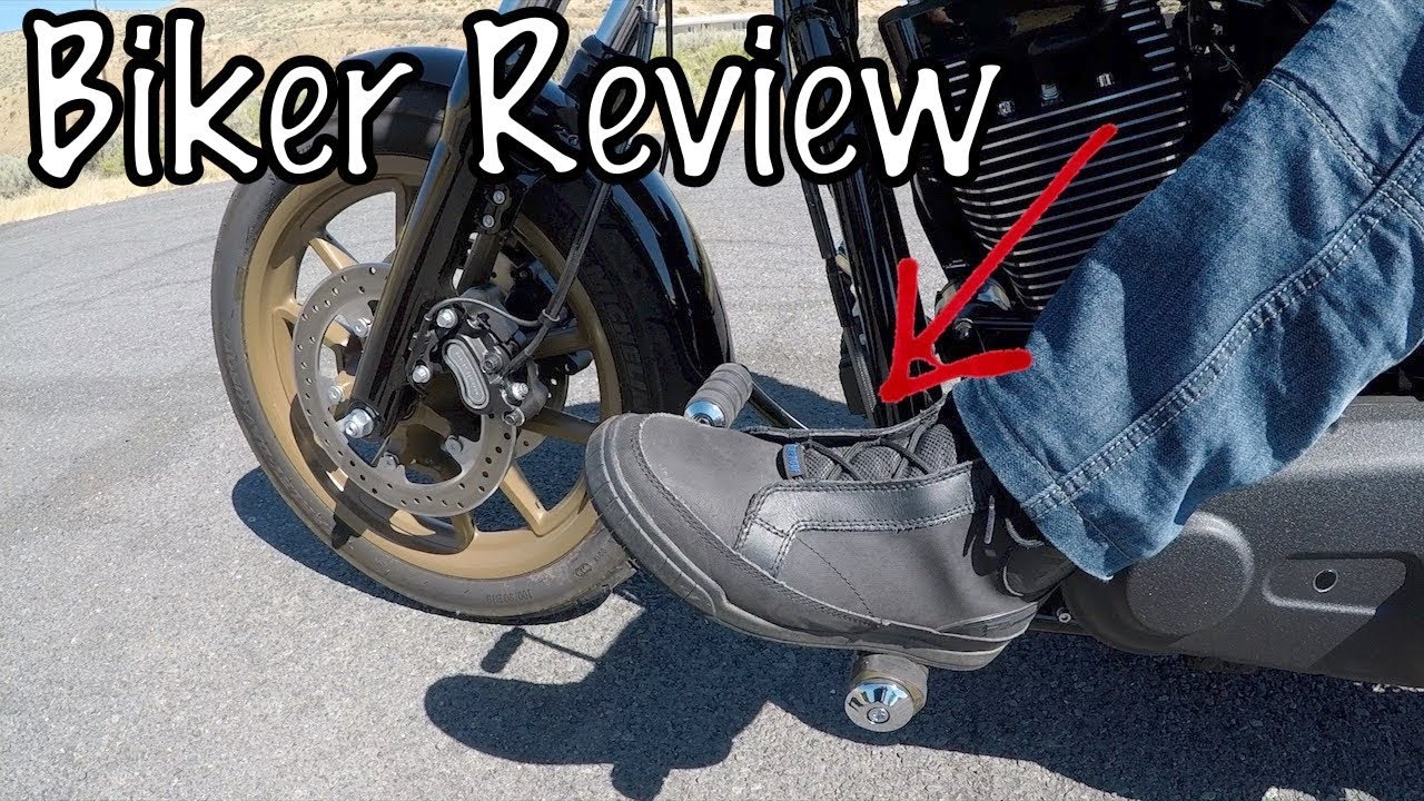 c127fa1b96 Bates Taser Motorcycle Riding Boots   Shoes-Biker Review - YouTube