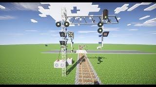 Real Train mod - Как сделать СВЕТОФОР! Traffic-light in Minecraft(mods: https://yadi.sk/d/JhS9-21cu62Po map: https://yadi.sk/d/ePscbuT7uAYS5., 2016-04-06T11:35:01.000Z)