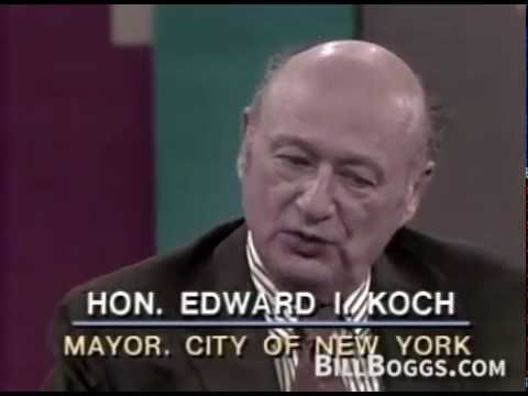 Former New York Mayor Ed Koch Interview with Bill Boggs