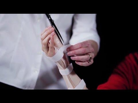 Volar Splint Removable Fiberglass Doovi