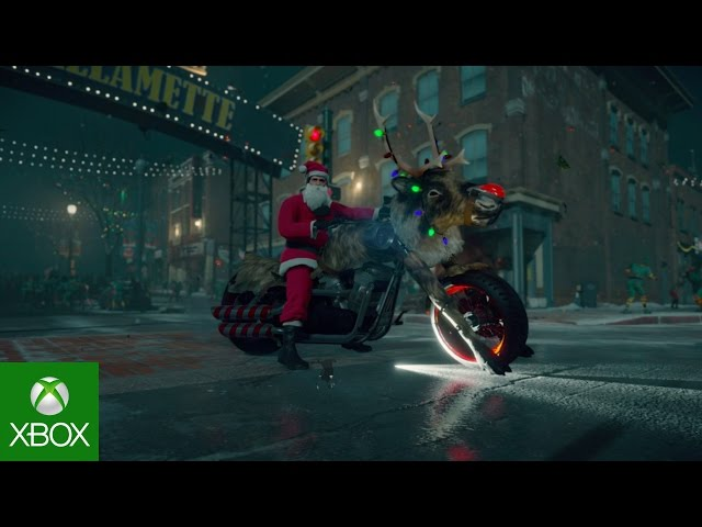 Dead Rising 4: Stocking Stuffer Holiday DLC Trailer