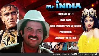 """""""Mr. India"""" Movie Full Songs   Anil Kapoor, Sridevi   Jukebox"""
