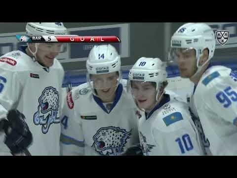 Barys 7 Dinamo R 3, 29 September 2018
