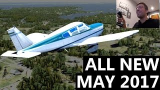 Flight Sim World Gameplay - ACTUALLY NEW Flight Simulator 2017 (DTG FSW)