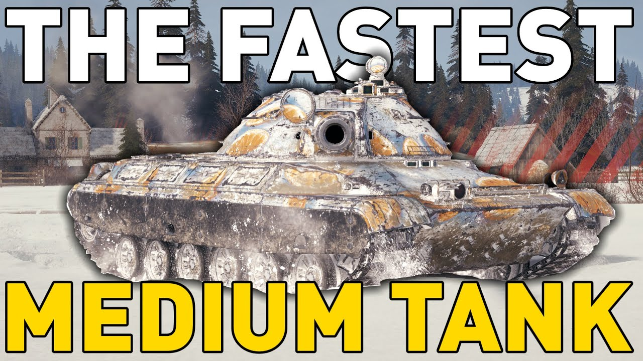 The FASTEST Medium Tank in World of Tanks! thumbnail