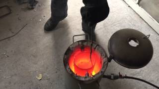 Aluminium Casting at Home.