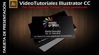 Tarjeta de presentación Videotutorial Illustrator by Yanko0