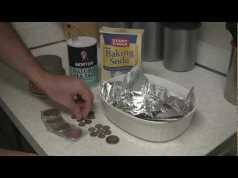 How to remove tarnish and clean silver coins, bullion, junk silver and jewelry