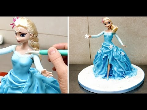 Save How To Make a Frozen ELSA Disney PRINCESS Cake/Torta Frozen Pictures