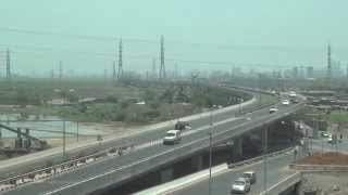 Eastern Freeway taken from Mumbai Monorail !!!