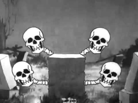 Cute Black And White Disney Desktop Wallpapers Silly Symphony The Skeleton Dance 1929 Disney Short Youtube