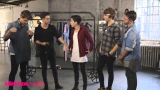 Union J - Wardrobe Challenge with blinkbox Music