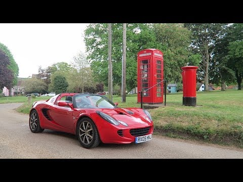 THE BEST B ROADER IV EVER DRIVEN? 2005 LOTUS ELISE REVIEW!