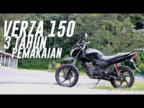 Honda Verza 150 setelah 3 tahun pemakaian | #BERGAYALAHSESUAIISIDOMPETLU