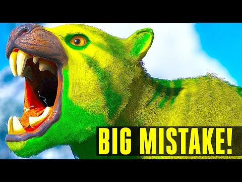 😱THEY CAN'T KEEP DOING THIS! THYLACOLEO How to/EVERYTHING YOU NEED TO KNOW Ark Survival Evolved 255
