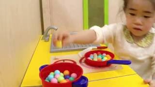 indoor playground Toy Cooking Kitchen Playset  play cooking thumbnail