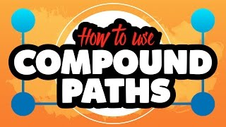 How to use Compound Paths in Adobe Illustrator CC