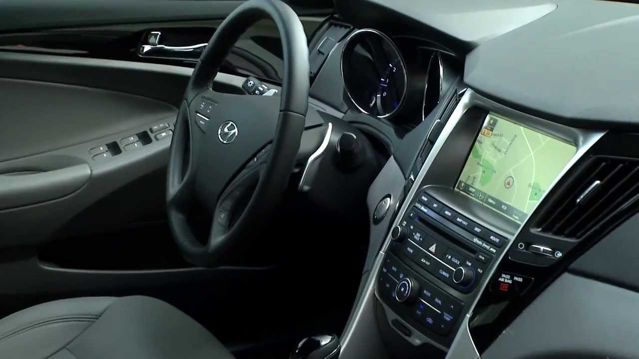 2014 Hyundai Sonata Interior Review Automototv Youtube