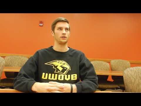 UWO Men's Volleyball Alex Basting